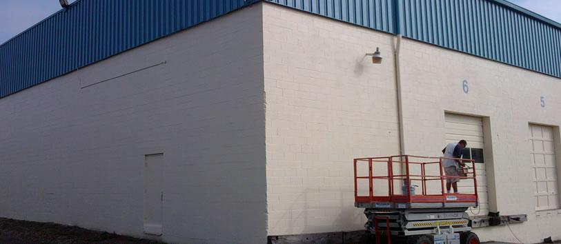 Commercial Painting in Leonard, MI