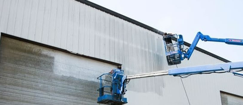Commercial Pressure Washing Services Michigan